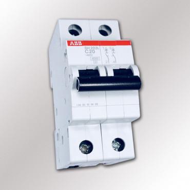 Автоматический выключатель ABB SH202L C20